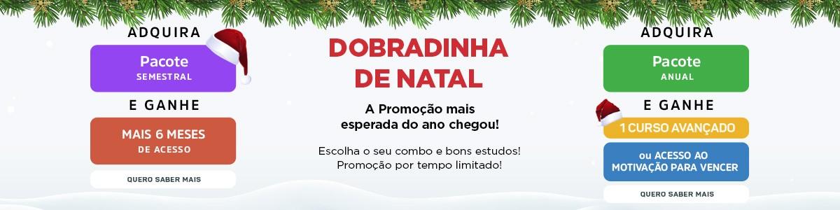 Dobradinha de Natal 2018 1dez2018